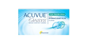 ACUVUE OASYS® for PRESBYOPIA